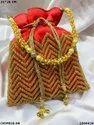 Designer Bridal Potli Batwa Bag