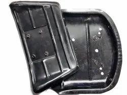 Auto Heaven Black Tractor Seat metal