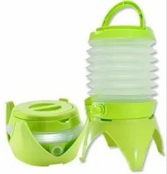 5.5 Liter Portable Collapsible Water Container Drinking Tool for Camping Hunting