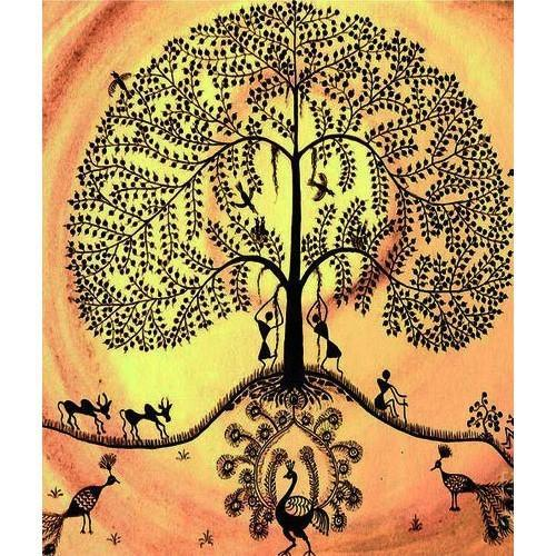 Warli painting at rs 500 square feet modern art paintings id warli painting thecheapjerseys Image collections