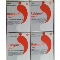 Rabipur PCEC Rabies Vaccine, Prescription