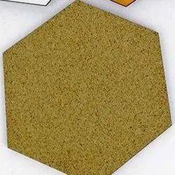 Brown Hexagonal MDF Blank Coaster