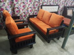 Rubber Wood Sofa Set