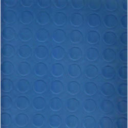 Stud Ocean Dotted Blue Vinyl Flooring