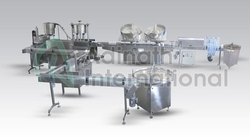 Automatic Capsule Counting And Bottle Filling Line