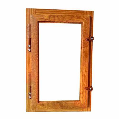 Wooden Mesh Window
