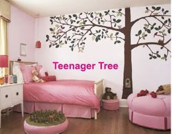 Big Stencils Teenager Tree