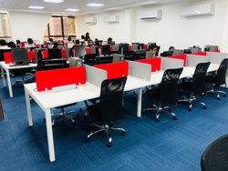 Modular Office Workstation Design