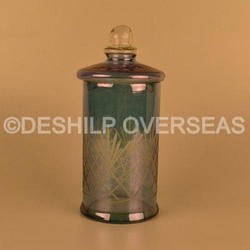 Luster Glass Jar