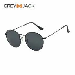 GREY JACK ROUND SUNGLASSES