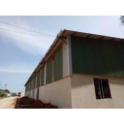 Green Steel Ware House