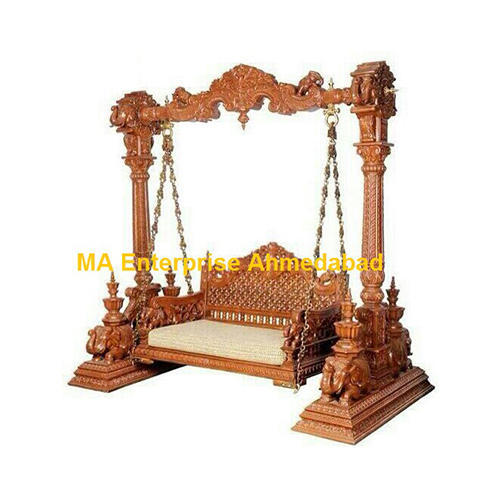 Wooden Swing Jhula Wooden Jhula Manufacturer From Ahmedabad