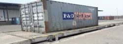 Steel Manufacturing Industry Weighbridge