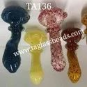 American  Colour Full Glass Smoking Pipe