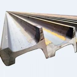 China Mild Steel Chinese Standard Rails 24lbs, For Crane & Movements Of Goods, Size/Dimension: Light Rail