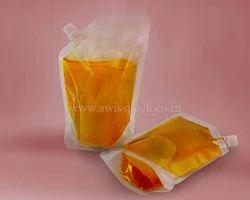 Juice Packing Spout Pouches