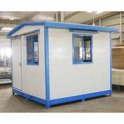 Steel Modular Prefabricated Guard Office Cabins