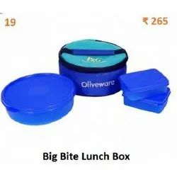 Oliveware Plastic Insulated Lunch Box