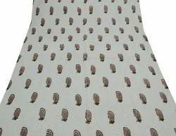 Block Print Handmade Cotton Kantha Quilt