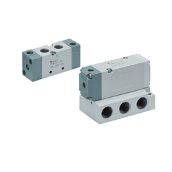 SMC VFA5000 5 Port VFA Series Air Operated Valve