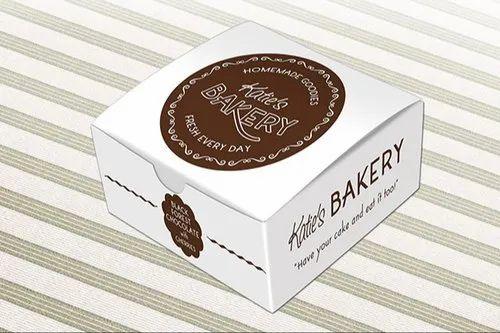 Printed Pastry Packaging Box