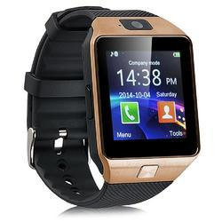 Black And Brown Watch Wrist Mobile Phone