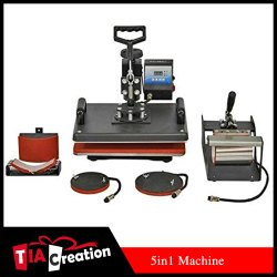 5 in 1 Sublimation Printing Machine