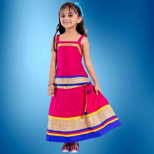 9528aa5662 Cotton Festive Wear Decot Paradise Kids Lehenga Choli