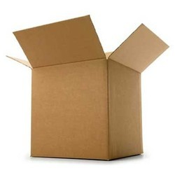 Brown Cartoons Cardboard Shipping Boxes For Materials Packing