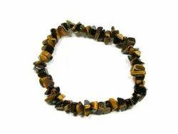 Stone Chip Bead Bracelets