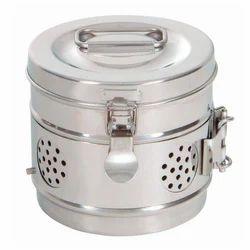 Dressing Drum Sterilizer, For Hospital, Size: 350x240 mm
