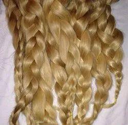 Hair King 100% Virgin Indian Human Blonde Colour Hair