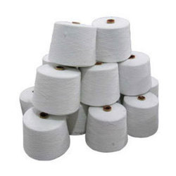 Polyester Cotton Raw White Yarn