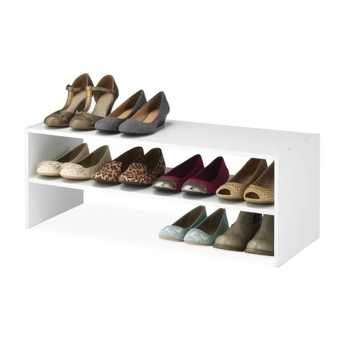 White Wooden 12 Pair Shoe Rack B For Home Hotel Guest House Use Size W31 X D12 X H12 Rs 3500 Unit Id 21456376330