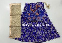Chaheti Flower Print Traditional Lehenga Choli Costume
