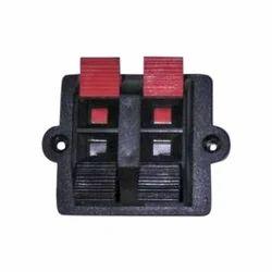 2 Way Speaker Terminal Socket
