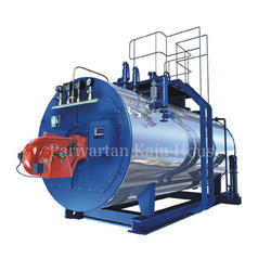 Parivartan kaju House Wood & Solid Fired Cashew Nut IBR Boiler, Capacity: 400-2000kg/Hr Steam Generation