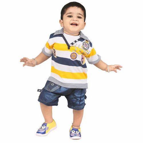 aaf1c4609 Cotton Regular Wear Boys Kids Wear