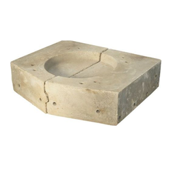 Induction Furnance Top Block of Crucible