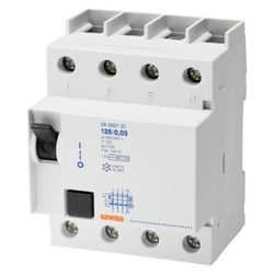 3 Phase Residual Current Circuit Breaker, 2 Pole & 4 Pole, 25a - 63a