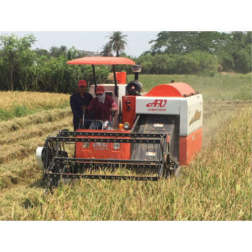 Agricultural Rice Harvester
