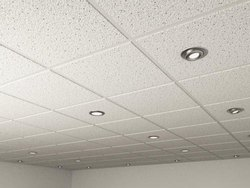 PVC Laminated Ceiling Tiles