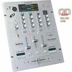QD MX 300 Dual USB DJ Mixer