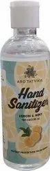 Arotatvika Gel Based Lemon & Mint Hand Sanitizer, 100mL
