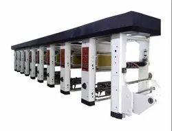 3 Drive Rotogravure Printing Machine Plant