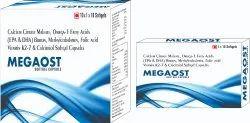 Calcium Citrate Maleate Omega-3 Fatty Acids Capsules (EPA and DHA) Boron Methylcobalamin Folic Acid