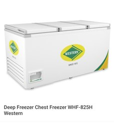 Western Chest Freezer WHF825H