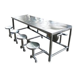 Eight Seater SS Canteen Table