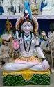 Marble White Shiva Statue