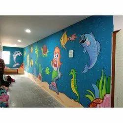 3-5 Days Play School Interior Designing Service